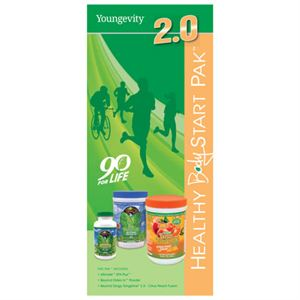 Picture of Healthy Body Start Pak 2.0 Trifold Brochure -25 ct